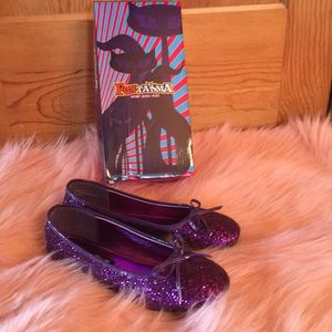 NEW Fantasma Purple Glitter Shoes
